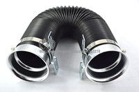 Wholesale Adjustable Air Intake Hose Blue Red Silver Neck universal fitment Have stock and ready to ship