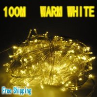 Wholesale one piece m warm white led string light party fairy xmas tree lights lighting