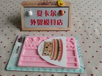 Wholesale Dry Pace bow buttons embossed stamp pad Fimo clay tools fondant cake decoration molds