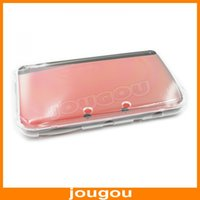 3ds xl - Hard Crystal Case Clear Cover Shell for Nintendo New DS XL LL