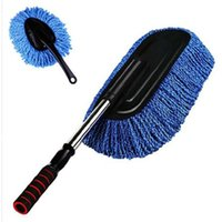 Wholesale car brush In addition to static wax supply car wax to remove dust mop sweep of microfiber cleaning no hurt the car set