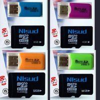 Wholesale 2015 GB GB GB GB TF Flash Memory Card Class Micro SD SDHC Card READER Hot