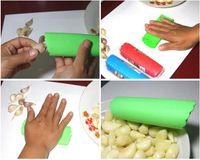 Wholesale Magic Silicone Garlic Peeler Peel Easy Useful Kitchen Tools Popular Accessories