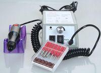Wholesale Professional Nail Art Equipment Manicure Pedicure Electric Drill Nail Pen Machine Set Kit File BitS Nail Art Drilling