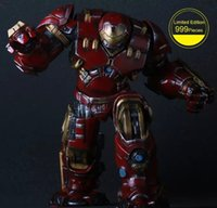 Wholesale Hulkbuster Iron Man Limited Edition Action Figure Avengers Hulkbuster Iron Man Doll PVC ACGN figure Toy Anime CM