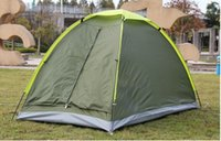 Wholesale 2015 Outdoor Travel Camping Fishing Tent Single Layer Waterproof Portable UV resistant Tents Person Casual Sport Hiking Camp Tents