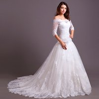 Wholesale 2015 Hot Mermaid Vintage Lace Wedding Gown with long Sleeve Jacket Sweetheart Court Train Church Bridal Dress High Quality Real Picture