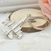 antique airplane models - Creative Design Fashion Aircraft models Key Chain Airplane Key Ring Chain for Free Your Dream L5 LX MHM177