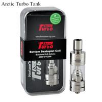 Nouveaux Horizon Arctic Turbo sub ohm Réservoir 4ml BTDC sondé bobine Recharge Haut Sub Ohm atomiseur support 40-120w boîte mod