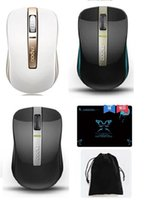 Wholesale Rapoo Wireless Bluetooth Ghz Dual Mode Optical Mouse dpi for PC Computer Laptop Mouse Bag Mouse Pad