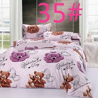 Wholesale 024035 Hot Types Reactive Printing BEDDING Bedding Set pillowcase queen king size QUILT