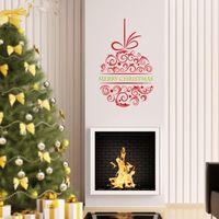 al por mayor etiquetas en las ventanas de navidad-Navidad casa decoraciones de pared ventana pegatinas navidad vinilo decorativo