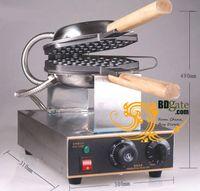 achat en gros de gaufre pan maker-Livraison gratuite! FY-6 Waffle électrique Pan Muffin Machine Eggette wafer Waffle Oeuf Fabricants Machine de cuisine Applicance 110v / 220v