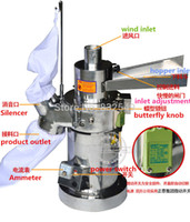 Wholesale Automatic Table type Continuous Feeding Herb Mill Grinder Pulverizer kg h continuous feed mill no dust flow type crusher