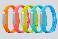 Wholesale Xiaomi MI band MiBand Bracelet IP67 Waterproof Smartband Wristbands for Android Phones MI3 MI4 MIUI Wearable Tracker