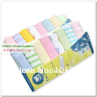 Wholesale Baby towel nice quality soft wash cloth for bay nursing washing cloth