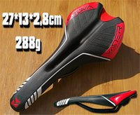 Wholesale Hot VADER Soft Middle Hollow Cycling Seats for Folding MTB Mountain Road City Race Bike Saddle Ergonomic Bicycle Accessory Black Red g