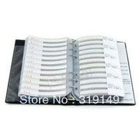 Wholesale SMD Resistor Sample Book values Total Electronic Components Package Samples kit Error