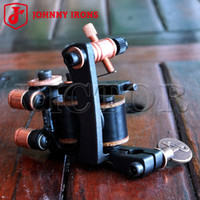 Wholesale Tattoo Body Art Tattoo Guns JOHNNY IRONS Cast Iron MJ06 Liner Tattoo Machines Tattoo Gun Wraps mm uF Professional Quality
