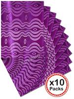 african head tie wholesale - by DHL Hot African SEGO headtie Head Gear Gele Ipele Head Tie Wrapper packs per set HD553 Purple