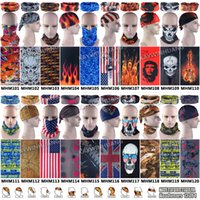 Wholesale 100pcs Fashion in Function Microfiber Outdoor Motorcycle Breathable Mask UV Protection Multifunctional Tubular Headwear