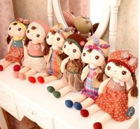 gift for children day - 35cm Lovely Stuffed Cloth Doll Plush Toy Metoo Angela cartoon girls Doll For Christmas Girl Birthday Gift Children s day Gift A6598