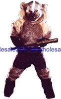 baseball helmet sizing - High quality EVA Material Helmet baseball Werewolf Mascot Costumes walking cartoon Apparel customization Adult Size