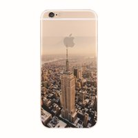 beautiful mountains - Beautiful d iPhone cases City Mountain Ocean Transparent Case Cover For Apple iPhone s s s plus Case TPU Series Crystal Soft Case