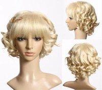 fashion hair short wig - Fashion Wigs ladies Short hair wig RNS