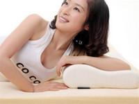 Wholesale White x50 x55 x60 Slow Rebound Memory Foam Pillow Cervical Health Care Neck Pain Slow Rebound Space Memory Foam Pillow Bamboo Pillow