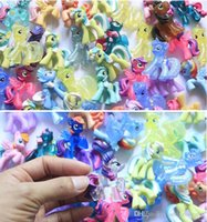 Wholesale Hot Sales My Little Pony Loose Action Figures toy CM Pony Littlest Figure Dia Childrens Day Birthday Gift For Kids High Quality Cheap