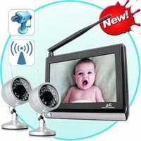 Wholesale 7 quot Baby Monitor G Wireless DVR Home Security CCTV Video System w R Camera