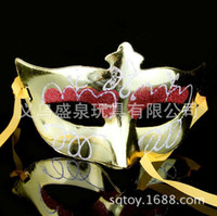 beauty supplies sale - Factory direct sale masks Small beauty supply tip painted mask plating multicolor mixed hair
