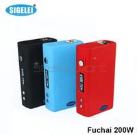 Wholesale Original Sigelei Fuchai w TC Mod Sigelei w TC Temperature Control Mod VS Snow Wolf w Sigelei w Plus Kanger Nebox Koopor Plus