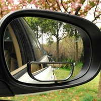 Wholesale Fanghaped car typer rearview mirror auxiliary mirror car wide angle mirror reversing mirror scotoma yh