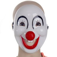 adult animation shows - Halloween Mask Masquerade Jolly Masks Full Face Movie Mask Cosplay Jester Mask Animation Game Show Mask