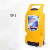 Wholesale Yellow L Car Electric Pressure Washer Hose Nozzle Gun Towel Brush Car Washer Portable V Car Cigarette Lighter Pressure Washer