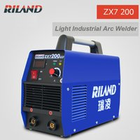 Wholesale Portable ARC Welder ARC200 Digital Display DC Inverter ARC Welding Machine ZX7 Real Current A MMA Welding Machine Stick Welding
