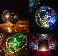 baby universe - Star Lovers Cosmos Sky Master Universe Master Revolving Mini Projector Lamp LED Baby Light starry night with English Month Name DHL Factory