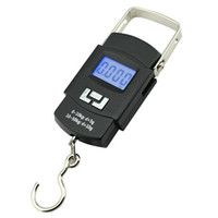 Wholesale 100sets New kg g Digital Hanging Scale Portable Electronic Luggage Scale DHL UPS MiiRii Scale