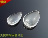 Wholesale Price mm Crystal Tear Drop Pendant For Chandelier Curtain Parts Crystal Chandelier Part
