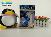 Wholesale DHL Free Soap Magic Automatic Soap Dispenser Hands free Soap Dispenser