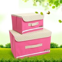 bamboo material clothing - 2015 Sale New Foldable Nonwoven Underwear Storage Box Fashion Home Box Organizador Non woven Material Makeup Organizer