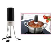 Wholesale 10pcs Speeds Cordless Stir Crazy Stick Blender Robo Crazy Stirs Auto Hand Free Sauce Stirrer Electric Blender