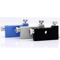silver wire - E Cigarette Atomizer Coil jigs Heating Wire wick winding jig Black Blue silver color coil jig Coiler Machine for Kayfun Orchid Dark Horse