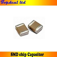 Wholesale 57 Value SMD SMT Ceramic capacitor MLCC SMT KIT pF uF