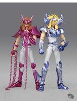 Wholesale Galactic Nebula Saint Seiya Cygnus Hyoga Andromeda Shun gold myth cloth action figure toy model