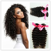 Cheap Rosa hair products Brazilian Virgin Hair deep Wave 2 bundles 6A Virgin Hair Cheap Human Hair Extensions