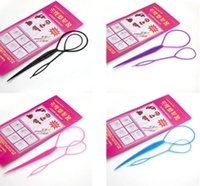Wholesale 2pcs Topsy Hair Braid Tail Ponytail Maker Styling Tool