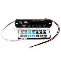 Wholesale Car Handsfree Bluetooth MP3 WMA Decoder Board V Wireless Audio Module USB TF Radio for Car
